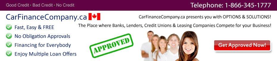 Consumer Proposal Car Loan Canada Car Finance Company